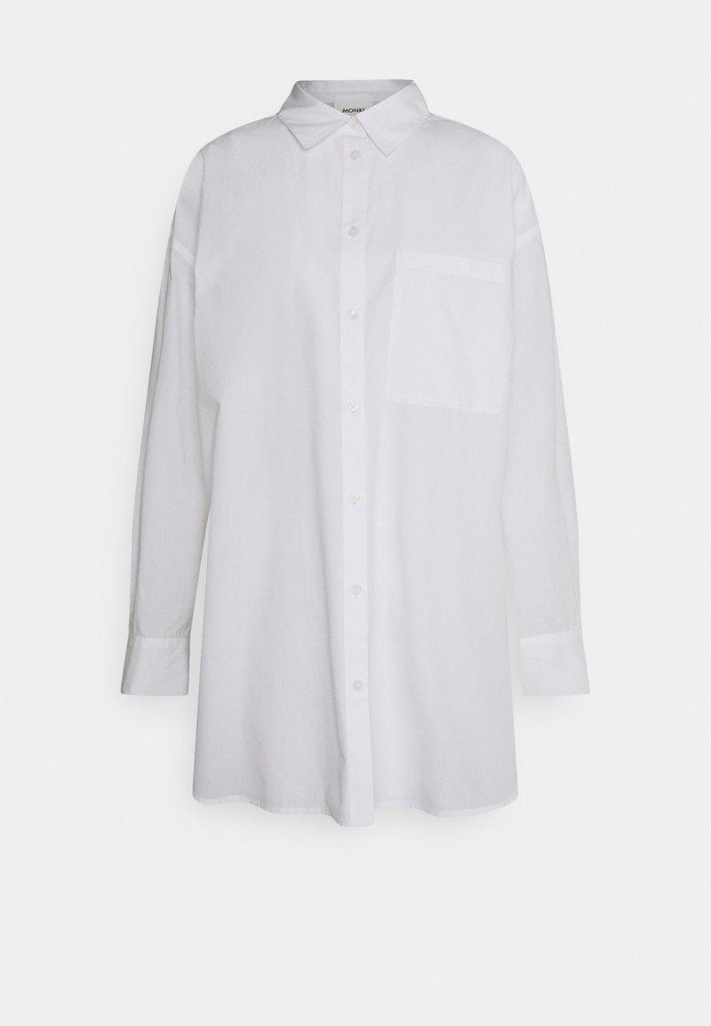 Monki - Skjorta - white light