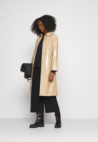 Bruuns Bazaar - JOSETTE GABY COAT - Short coat - roasted grey khaki - 1