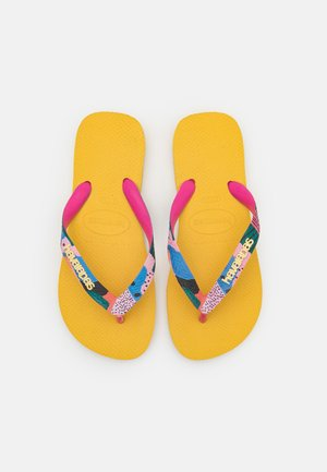 TOP VERANO - Pool shoes - gold yellow
