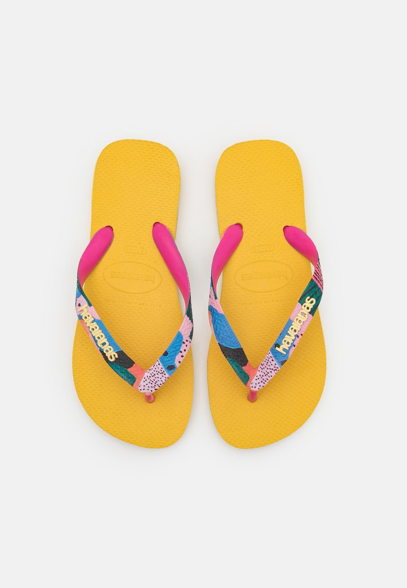 Havaianas - TOP VERANO - Pool shoes - gold yellow