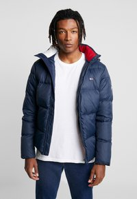 Tommy Jeans - ESSENTIAL JACKET - Down jacket - black iris - 0