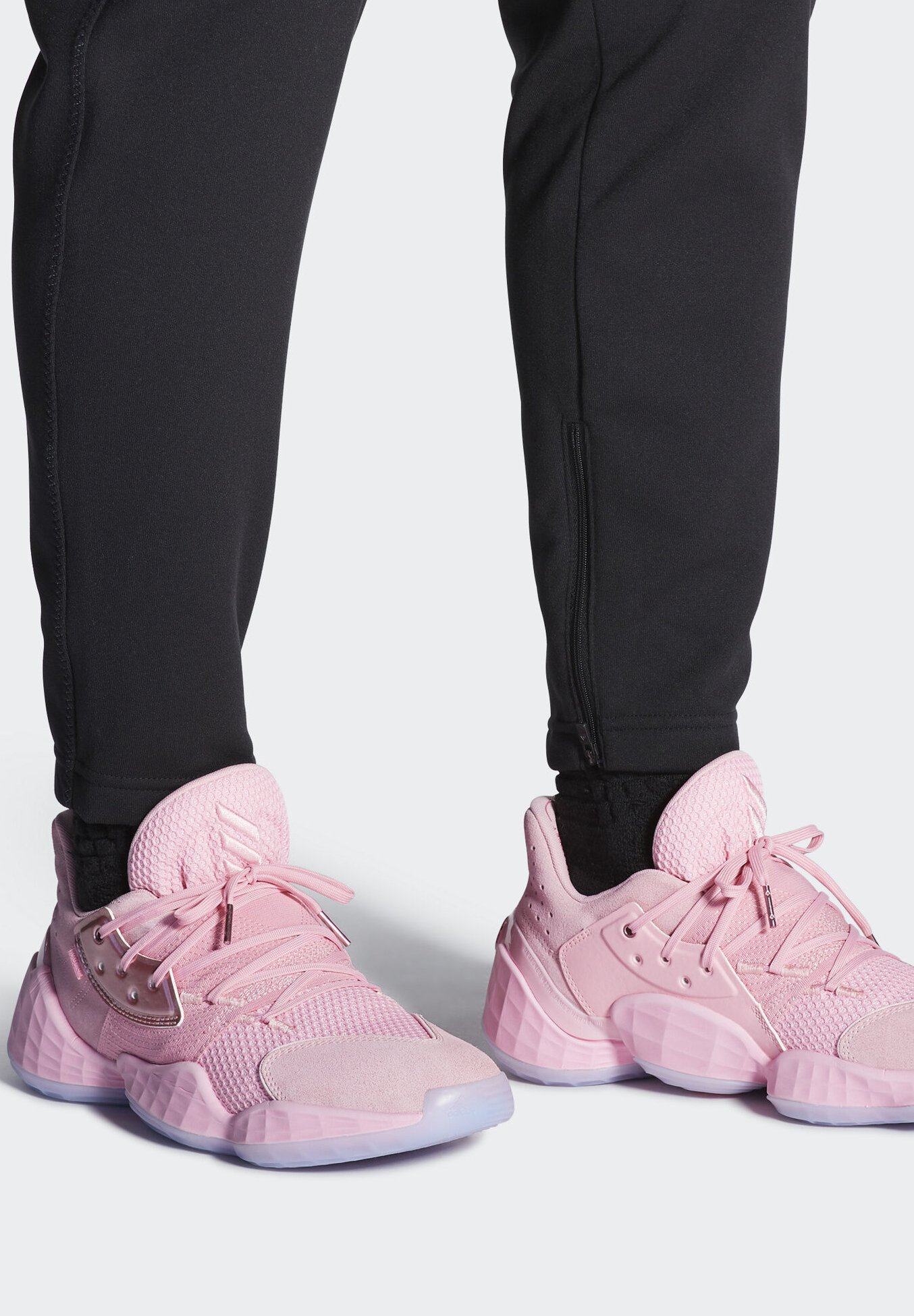 hacha Visualizar incidente  adidas Performance HARDEN VOL. 4 SHOES - Chaussures de basket - pink/rose -  ZALANDO.BE