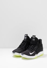 Nike Performance - KD TREY  VII - Basketball shoes - black/white/cool grey/volt - 2