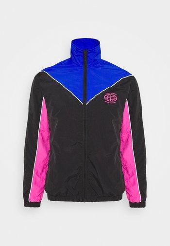 NAJOSHUA - Summer jacket - black/blue/pink