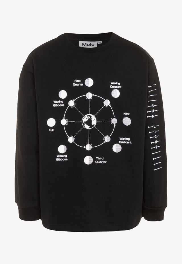 RIN - T-shirt à manches longues - black