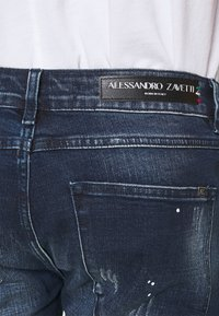 Alessandro Zavetti - SUPER SLIM  - Jeans Skinny Fit - indigo - 4