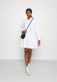 YAS - YASSCORPIO DRESS - Blousejurk - bright white - 1