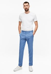 s.Oliver BLACK LABEL - Suit trousers - blue - 3