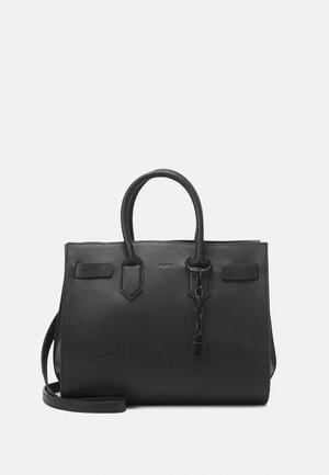 GENICULATA SET - Handbag - jet black
