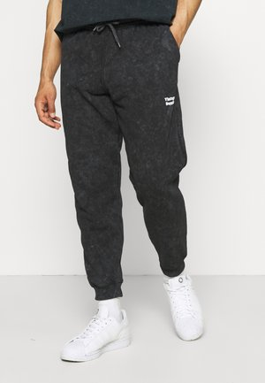 CORE OVERDYE  - Tracksuit bottoms - black