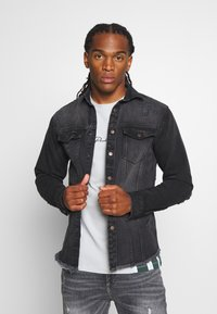 Redefined Rebel - JACKSON JACKET - Shirt - black/grey - 0