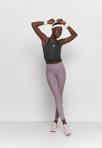 Nike Performance - AIR TANK - Sportshirt - black/iron grey/silver - 1