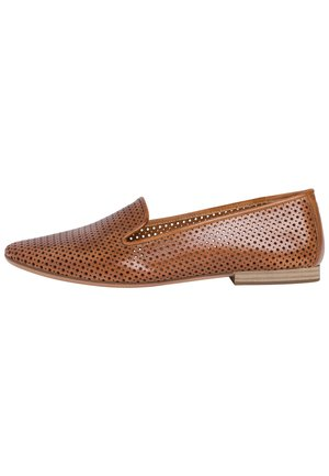 Slip-ons - nut leather