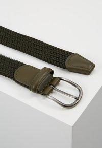 Anderson's - BELT - Pletený pásek - olive - 2