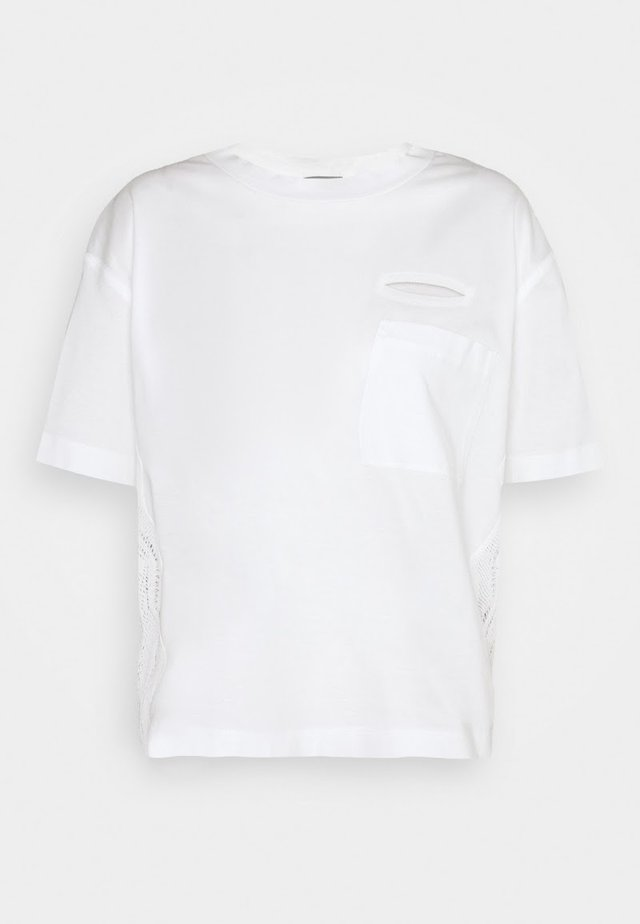 POCKET EYE - Basic T-shirt - optical white
