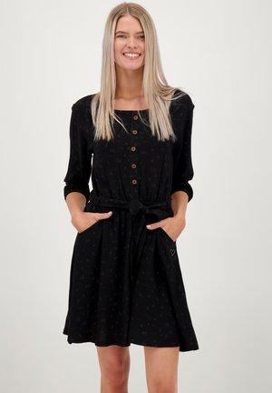SCARLETT LONGAK - Jersey dress - moonless