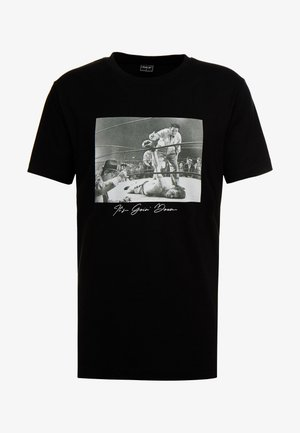 GOING DOWN TEE - Camiseta estampada - black