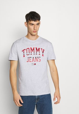 PLAID COLLEGIATE  - T-shirt con stampa - silver grey0001D009U5B