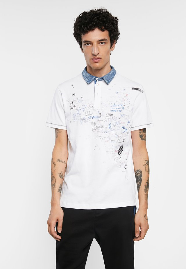 MIGUEL - Poloshirt - white
