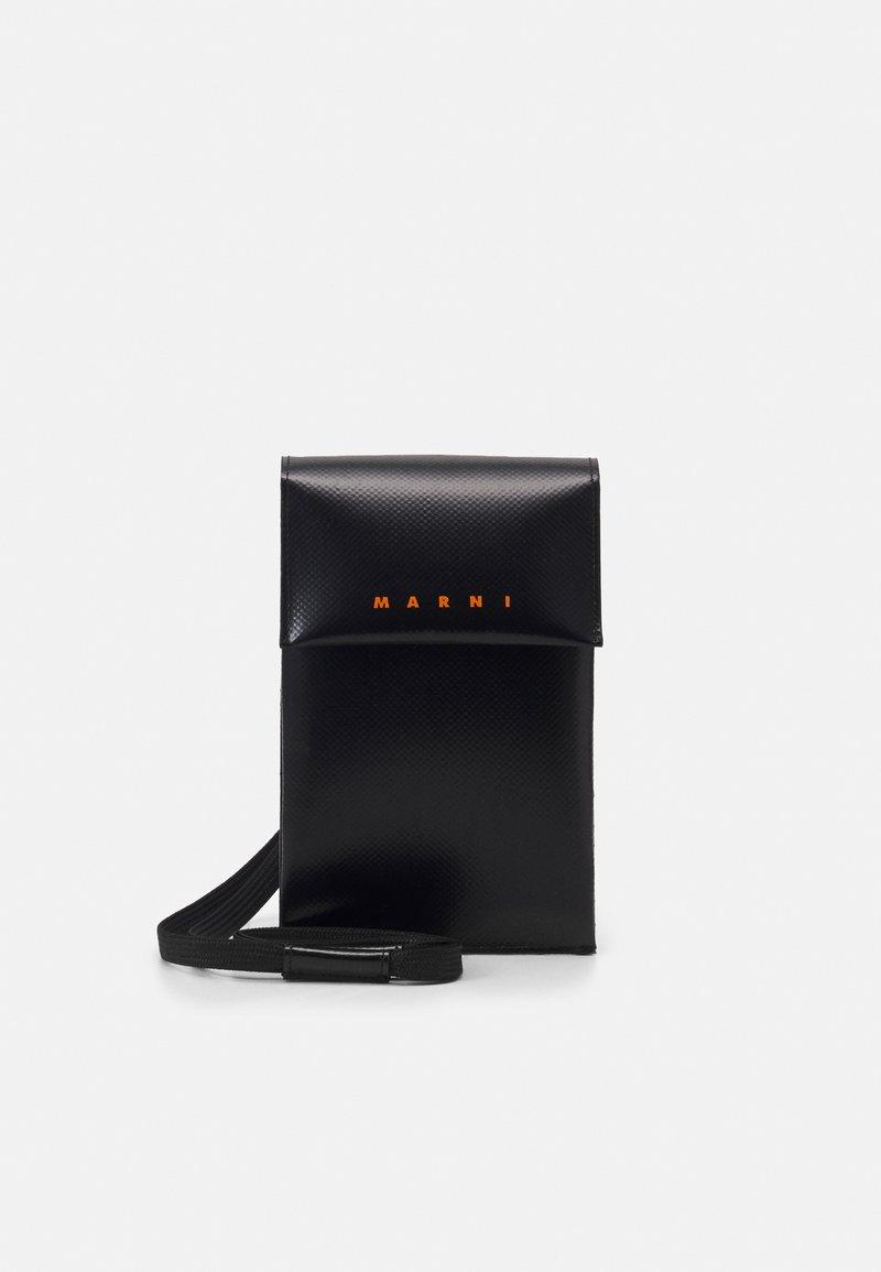 Marni - PHONE CASE UNISEX - Across body bag - black/eclipse