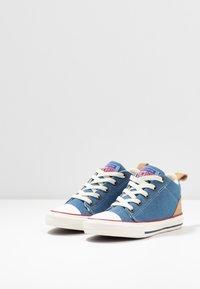Converse - CHUCK TAYLOR ALL STAR OLLIE - Zapatillas altas - blue slate/court blue - 3
