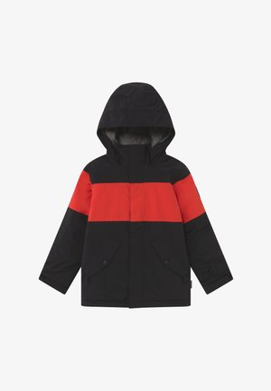 SYMBOL  - Snowboard jacket - black/red