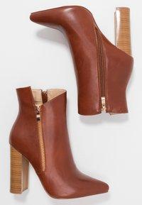 RAID - KEYLA - Kotníkové boty - tan - 3