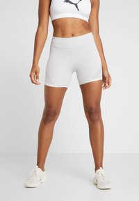 Puma - SG X SHORT - Leggings - glacier grey/white - 0