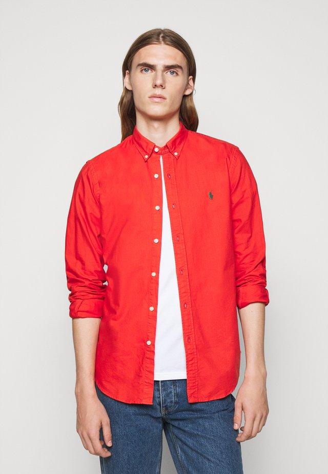 OXFORD - Shirt - orangey red