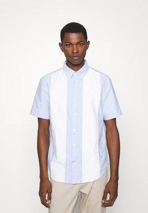 OXFORD BLOCK - Camicia - blue/white