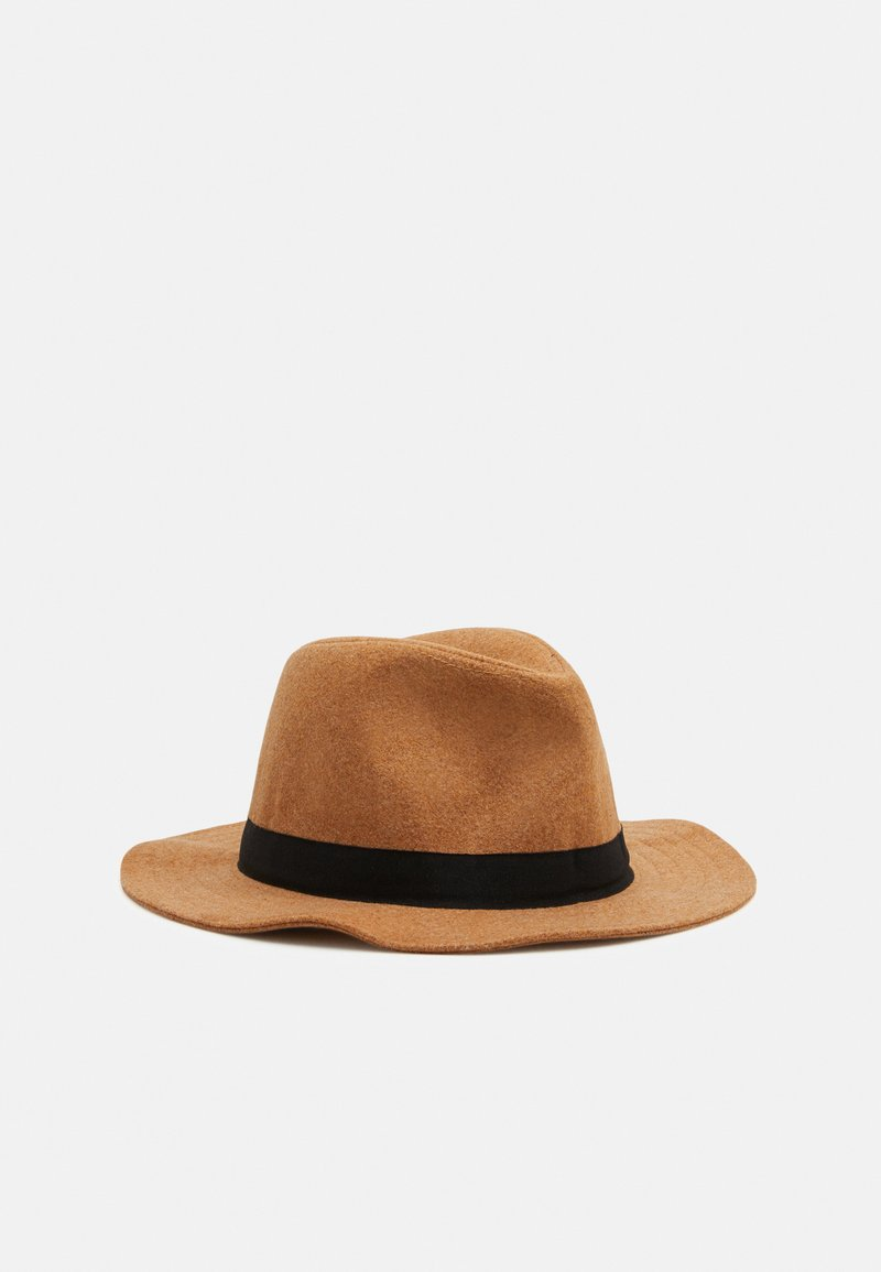 Only & Sons - ONSCARLO FEDORA HAT - Hat - beige