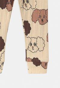 Mini Rodini - FLUFFY DOG UNISEX - Leggings - Trousers - beige - 2