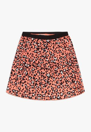 SHADA - A-line skirt - fiery coral