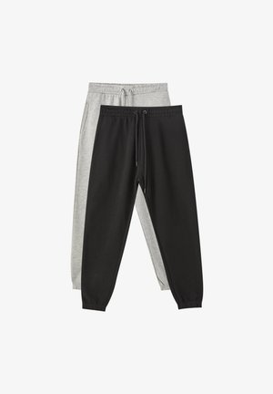 2 PACK - Tracksuit bottoms - dark grey
