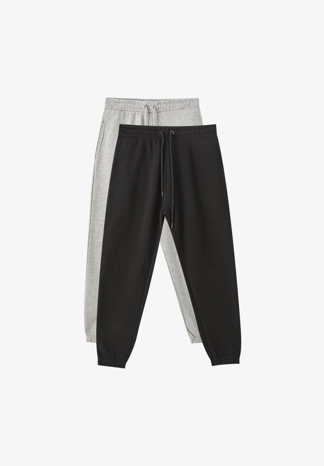 2 PACK - Trainingsbroek - dark grey