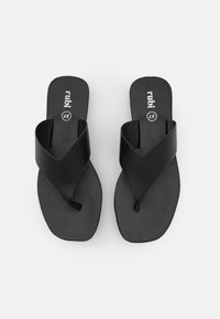 Rubi Shoes by Cotton On - LIVIE FLATFORM THONG - T-bar sandals - black - 5
