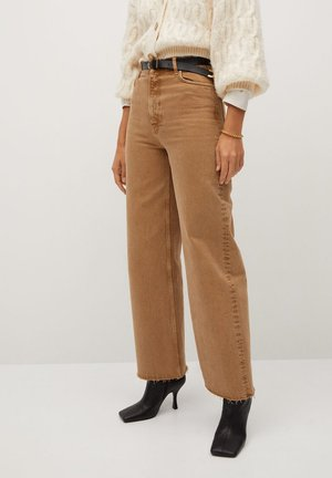 CASILDA - Flared Jeans - beige