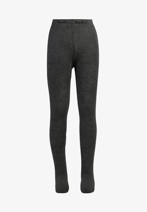 THERMOSTRUMPFHOSE - Tights - anthrazit melange