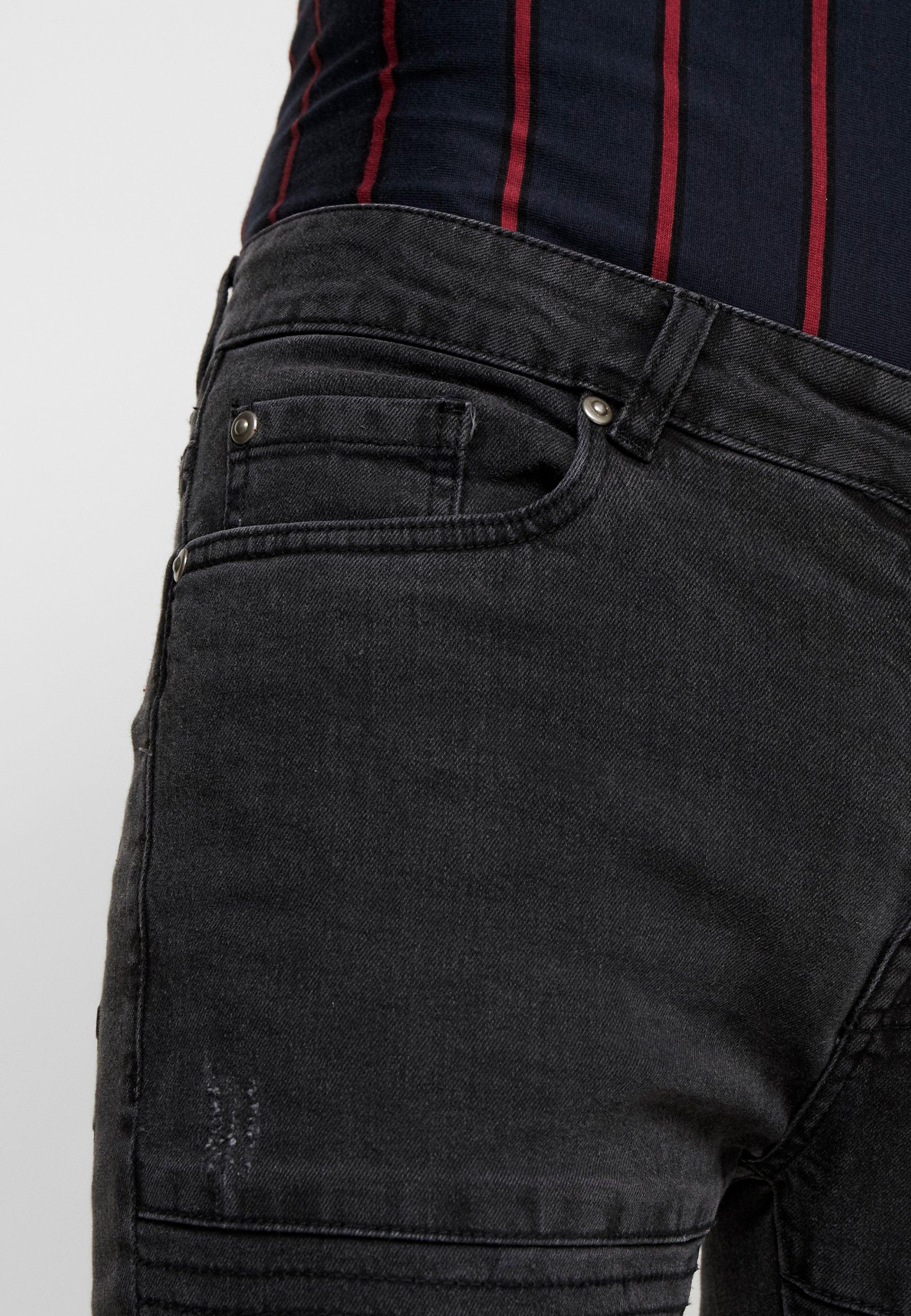 Brave Soul ANDRE - Jeans Skinny Fit - dark grey wash