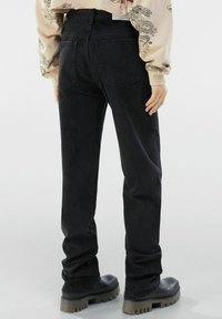 Bershka - Jeans straight leg - black - 2