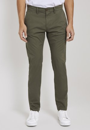 Chino - dusty wood green