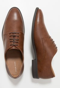 Pier One - Smart lace-ups - cognac - 1