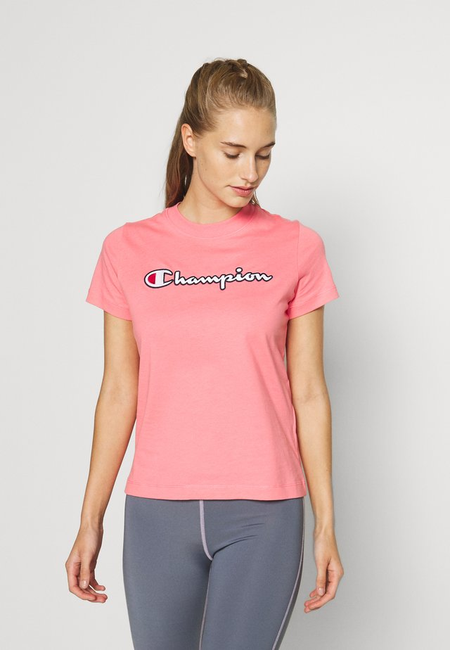 CREWNECK ROCHESTER - T-shirt con stampa - pink