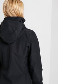 Jack Wolfskin - STORMY POINT JACKET  - Kurtka Outdoor - black