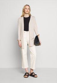 Esprit - UTILITY FINE - Cardigan - light beige - 1