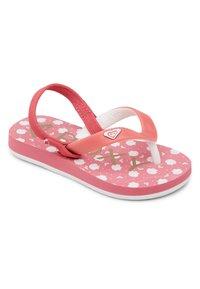Roxy - TAHITI VI - T-bar sandals - bright rose - 1