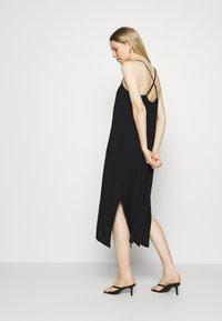 GAP - MIDI HANKY DRESS - Day dress - true black - 2