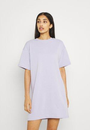 SUMMER  D2D - Jersey dress - purple heather