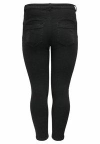 ONLY Carmakoma - SKINNY FIT CURVY CARANTE LIGE REG ANKLE PUS - Jeans Skinny Fit - black - 6