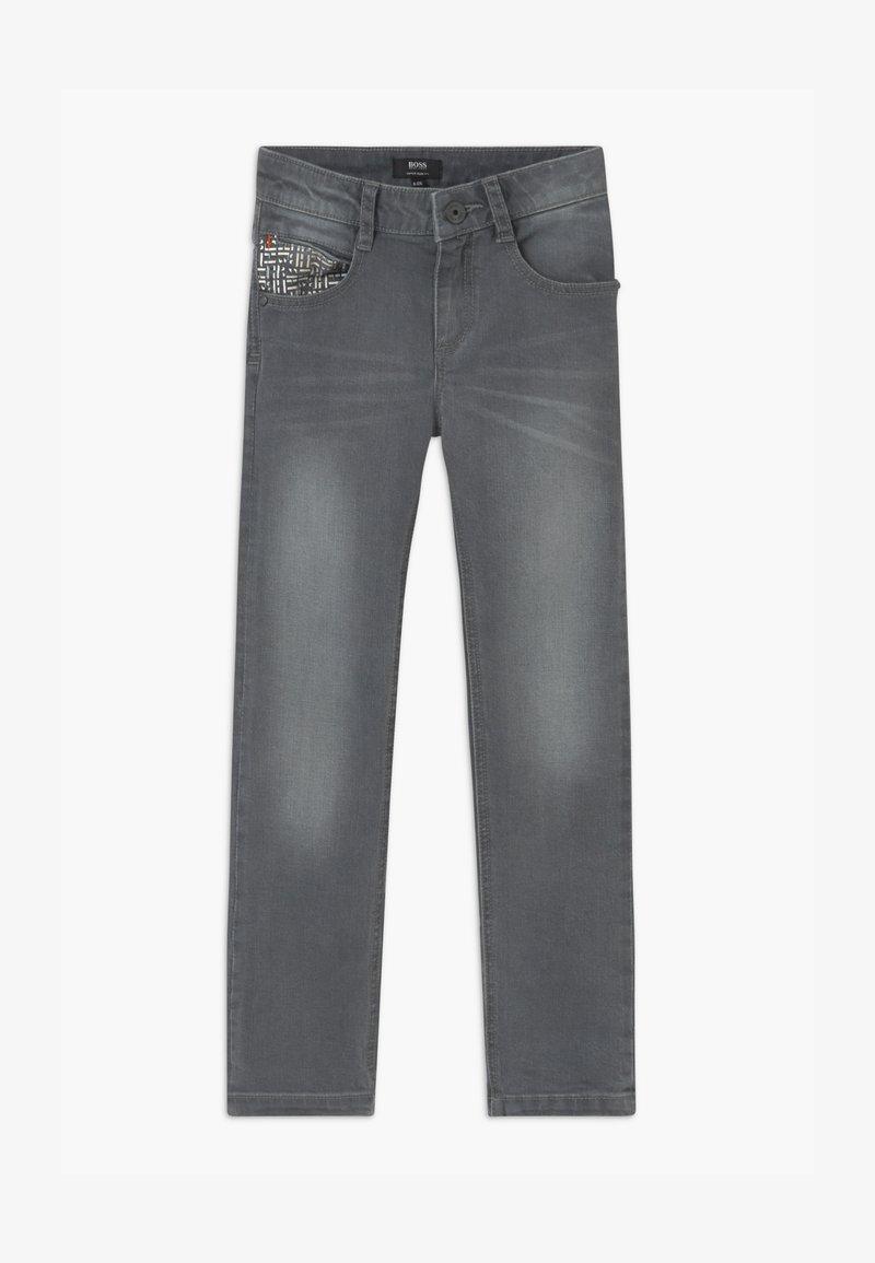BOSS Kidswear - Slim fit jeans - denim grey